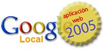 Google Local: mejor aplicación web de 2005