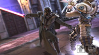 El escenario de 'Star Wars'  en 'Soul Calibur IV'