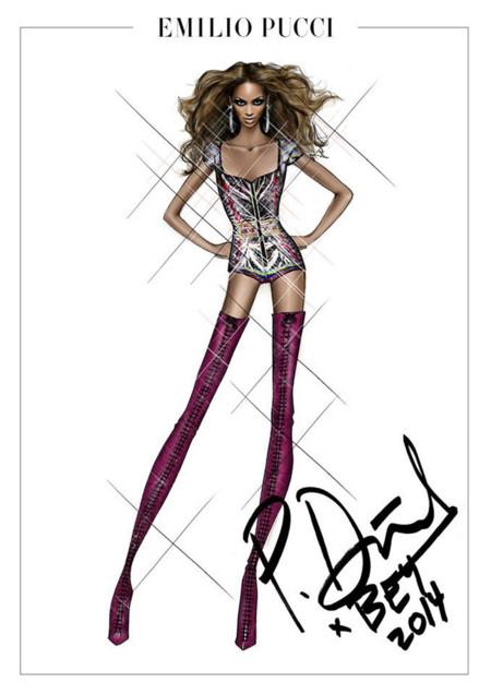 Emilio Pucci para Beyonce