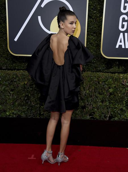 Millie Calvin Klein Globos De Oro 2018