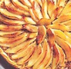 Tarta de peras