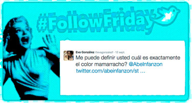 #FollowFriday de Poprosa: ¡cuánto amor hay en la red!