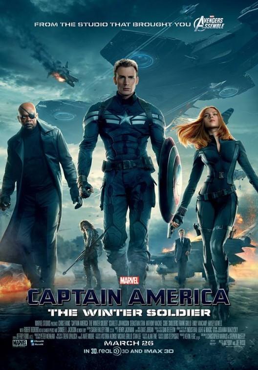 Foto de Carteles de 'Capitán América 2' (11/23)