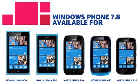 Nokia anuncia la actualización de Windows Phone 7.8 y ya está llegando a México