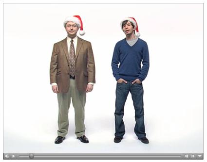 """Nuevo anuncio navideño de """"Get a Mac"""""""