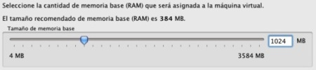 virtualbox sun asistente memoria