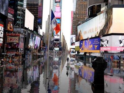Así será Nueva York si el reloj del cambio climático llega a cero