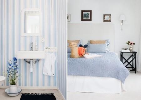 La semana decorativa: colores refrescantes como el blanco y azul