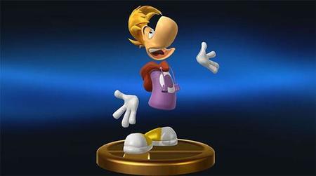 Rayman estará presente en Super Smash Bros. Al menos en forma de trofeo
