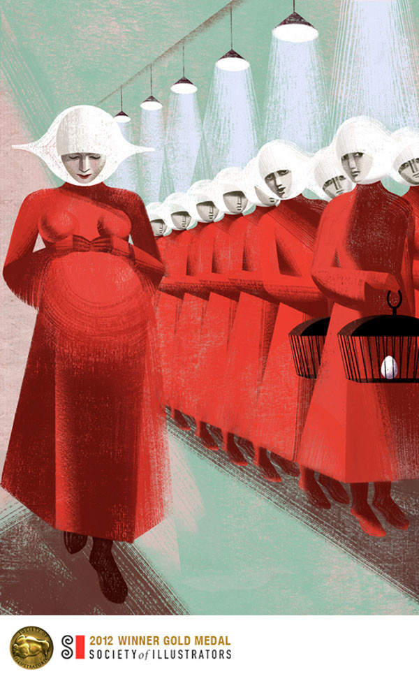 Pregnant By Balbusso Sisters For The Handmaids Tale By Margaret Atwood