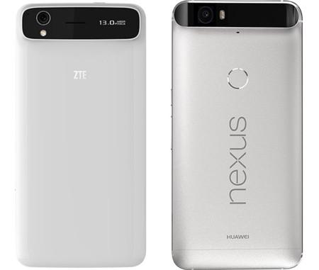 Lío a la vista: ZTE echa en cara a Huawei que el diseño del Nexus 6P se basa en el del Grand S