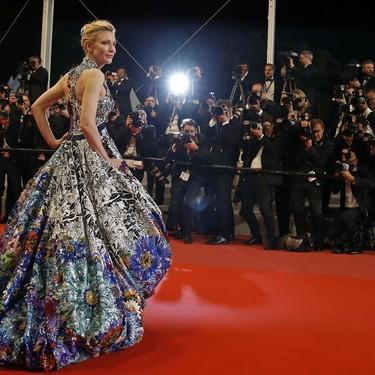 Cate Blanchett apuesta por el volumen y gana: así viste una verdadera estrella en Cannes