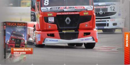 Renault regala un simulador de carreras, Truck Racing 2009