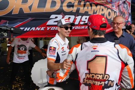 Lorenzo Marquez Tailandia Motogp 2019