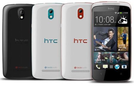 Se presenta el nuevo HTC Desire 500, de momento solo para Taiwán