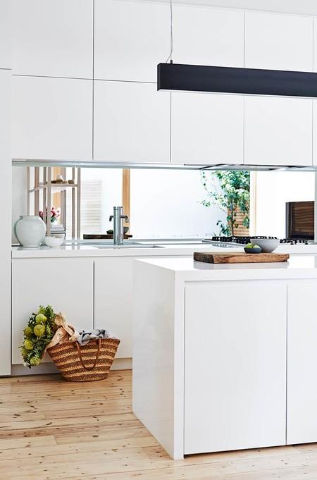 Espejos en la cocina