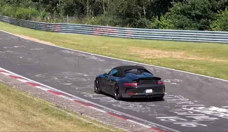 Porsche 911 Speedster 2019, cazado en vídeo en Nürburgring