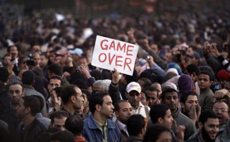 Mubarak ha hablado a la nación esta noche: asegura que 'no dimitirá'