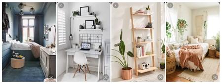 ¿Quieres maximizar el espacio en una habitación pequeña? Pinterest nos inspira