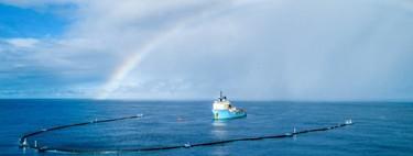 Alguien pensó que usar una red gigante para recoger plásticos del mar era buena idea, pero no: están barriendo la vida del océano