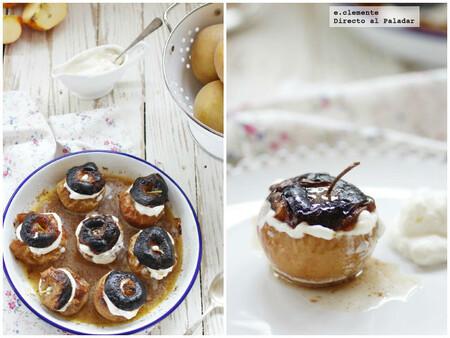 Manzanas asadas con nata y coñac: receta para un delicioso postre que te sorprenderá