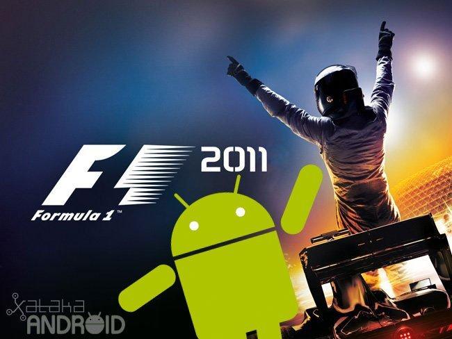 Prepara tu Android para la Fórmula 1 temporada 2011