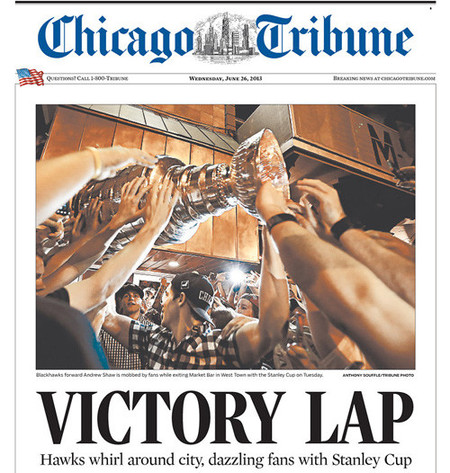 Portada Chicago Tribune