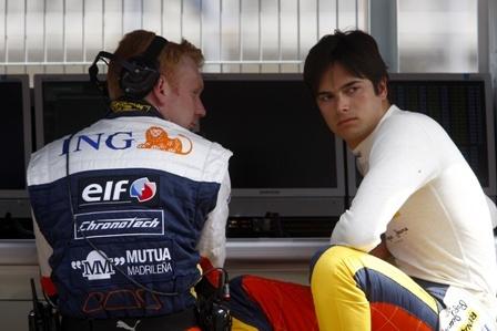 Renault empieza a dudar de Nelsinho Piquet