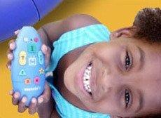 Weemote, un mando de TV sólo para niños