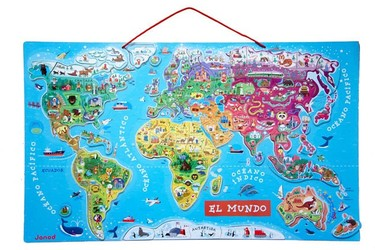 """El Mundo Magnético"": analizamos este mapamundi magnético"