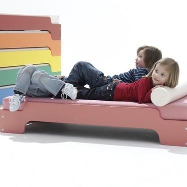 Los cuartos infantiles también pueden incluir buen diseño que se adapta y crece a medida que lo hacen los más pequeños