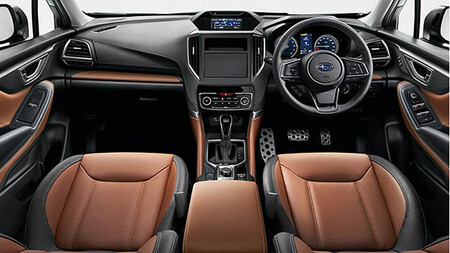 Subaru Forester restyling 2022 interior