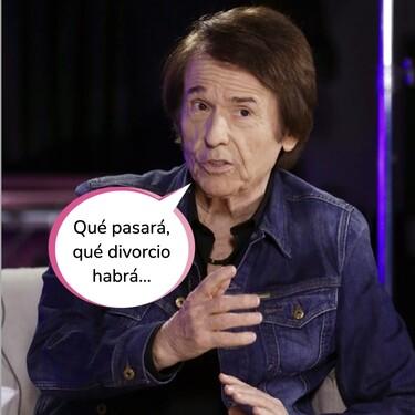 """Raphael habla claro sobre la ruptura de su hijo Manuel Martos y Amelia Bono: """"La gente ya no aguanta"""""""