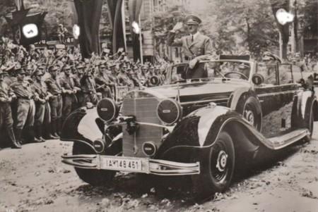 Coche Hitler Mercedes Benz 770k 2