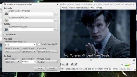 Subtitulator: incrusta subtítulos en vídeos bajo Linux