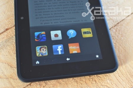 Kindle Fire HD análisis favoritos