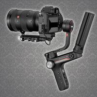 Zhyun Weebill S, nueva versión de un gimbal que promete más ligereza y robustez para cámaras réflex y sin espejo