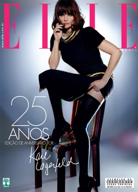 Helena Christensen Elle Brasil