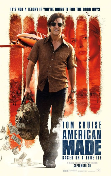 American Made Tom Cruise Poster