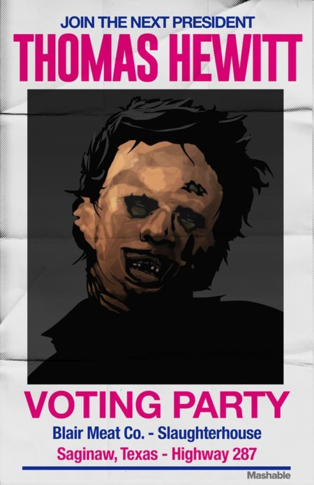 Horror Pres Posters Leatherface