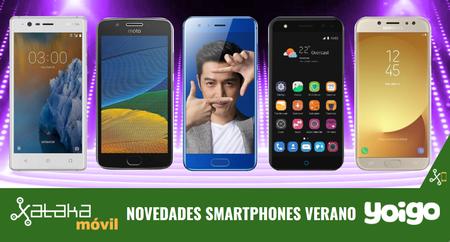 Nokia 3, Honor 9, Moto G5, Galaxy J7 2017 y ZTE Blade V8 lite entre otros, novedades en Yoigo y precios