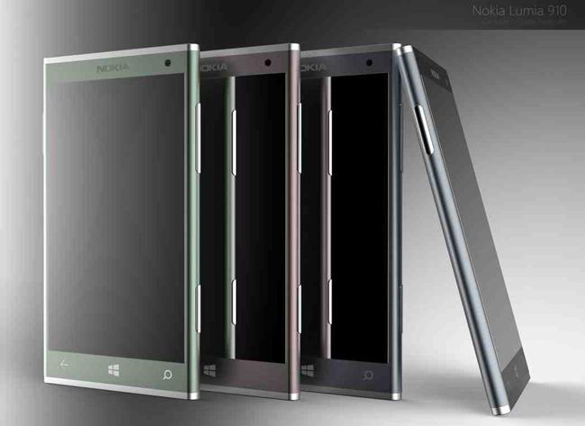 Nokia Lumia aluminio