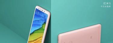 Xiaomi Redmi 5 y 5 Plus: pantalla de 18:9 y más potencia para la renovada gama de entrada