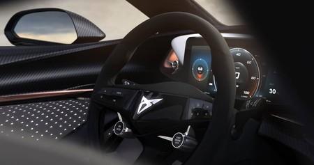 CUPRA sigue adelantando lo que será su primer SUV eléctrico con una foto del interior