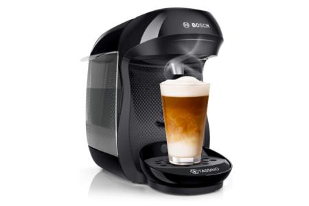 Cafetera En Capsular Bosch Negra