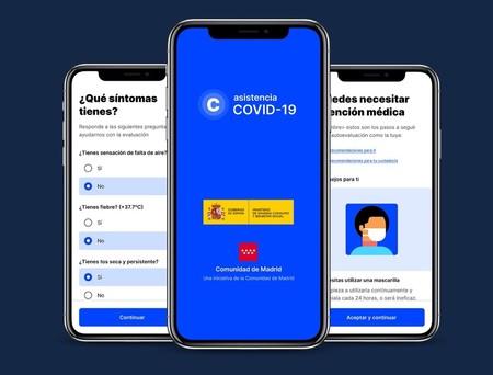 La Comunidad de Madrid lanza la app CoronaMadrid para que podamos evaluar los síntomas del coronavirus