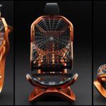 Lexus Kinetic Seat, un futurista asiento con estructura de tela de araña