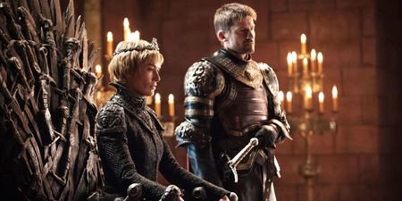 Cersei en el Trono de Hierro