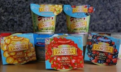 Yogur Cremoso 0% M.G. Ecológico de Casa Grande de Xanceda