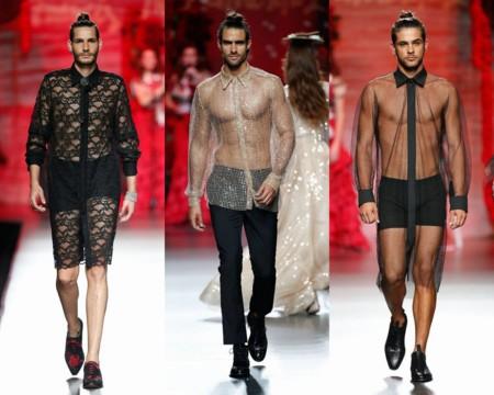 Transparencias Encaje Primavera Verano 2016 Trendencias Hombre